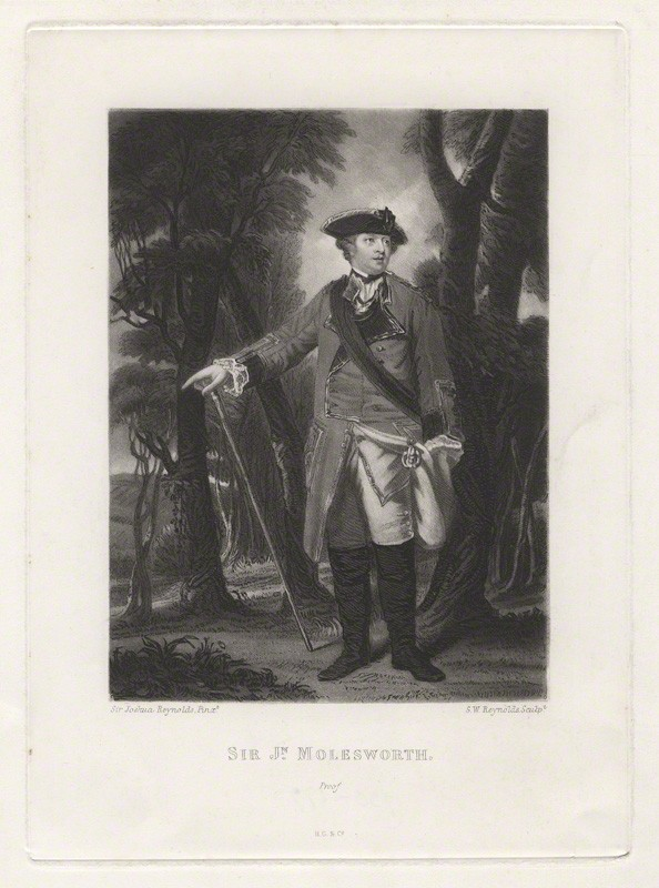 mezzotint, published 1822