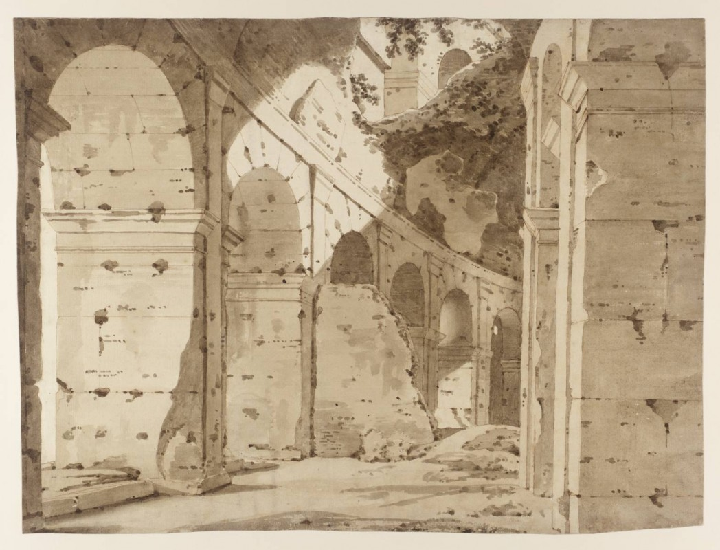 ca. 1774–5, graphite, ink and watercolour on paper